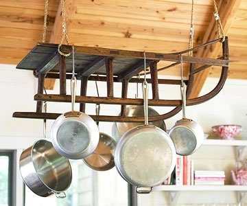 Repurposed Pot Rack