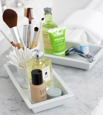 Quick + Easy Bath Storage