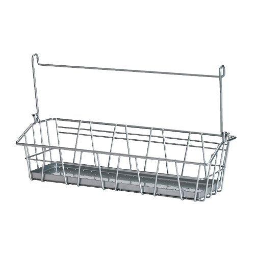 BYGEL Drótkosár IKEA BYGEL sínre akasztható, falra vagy a konyhaszekrény keretére, ajtajára erősíthető. Helytakarékos megoldás a munkalapon.