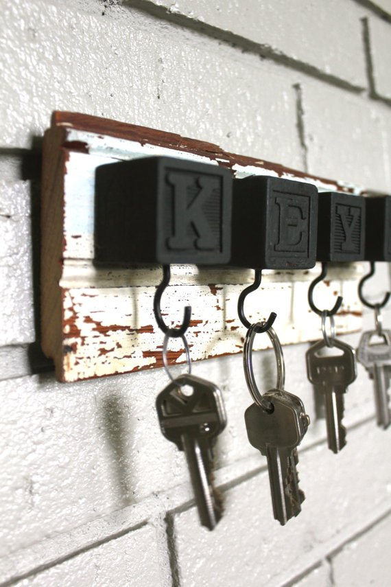 Alphabet tömb Kulcstartók