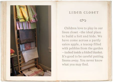 Organzing Your Linens on a Rack