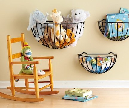 garden basket toy storage 12 Options for DIY Toy Storage