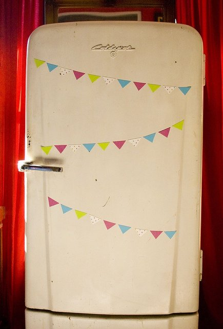 Magnetic Bunting  - Already printed them off as cute pictures that will stay forever but I think bunting might be a rather nice idea for the next set.