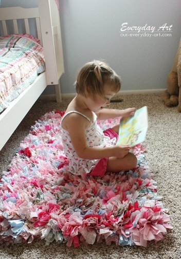 how to make rag rugs