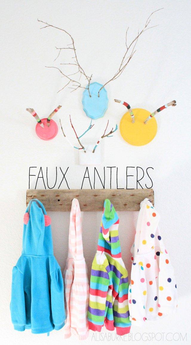 faux antlers Trófeák   másképp, barátságosabban