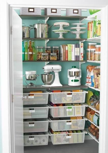 Do you have pantry envy! #kitchen #DIY #organize #pantry #dreamhome #realestate