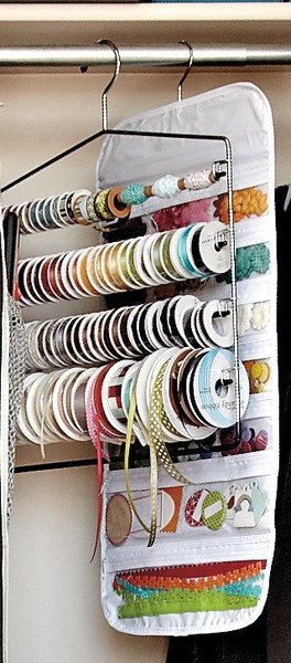 great craft and sewing organizing ideas
